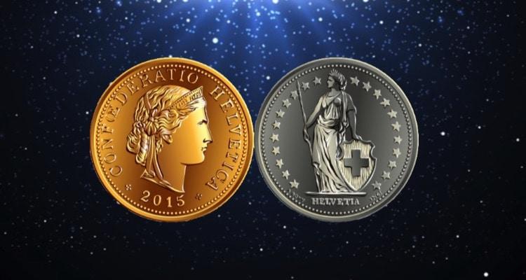 Gold oder Silbermünzen