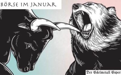Börse im Januar