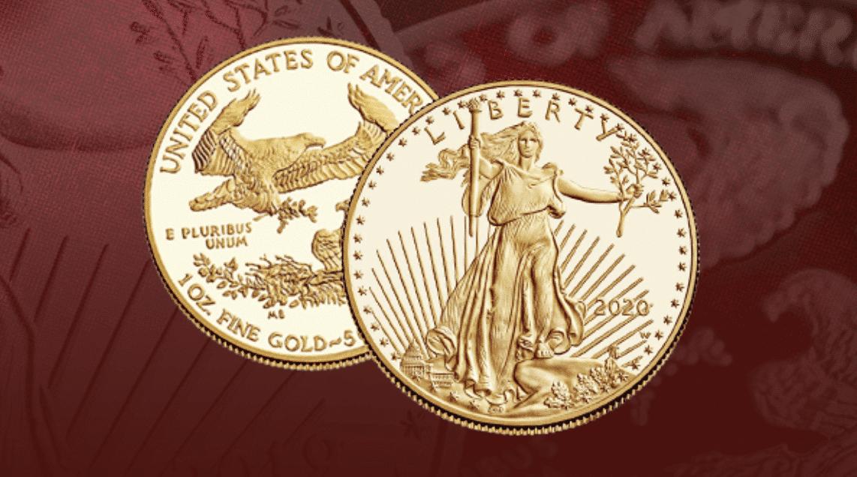American Eagle Goldmünze