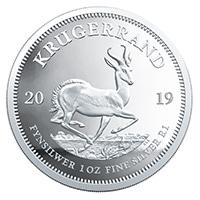 Krügerrand Silbermünzen