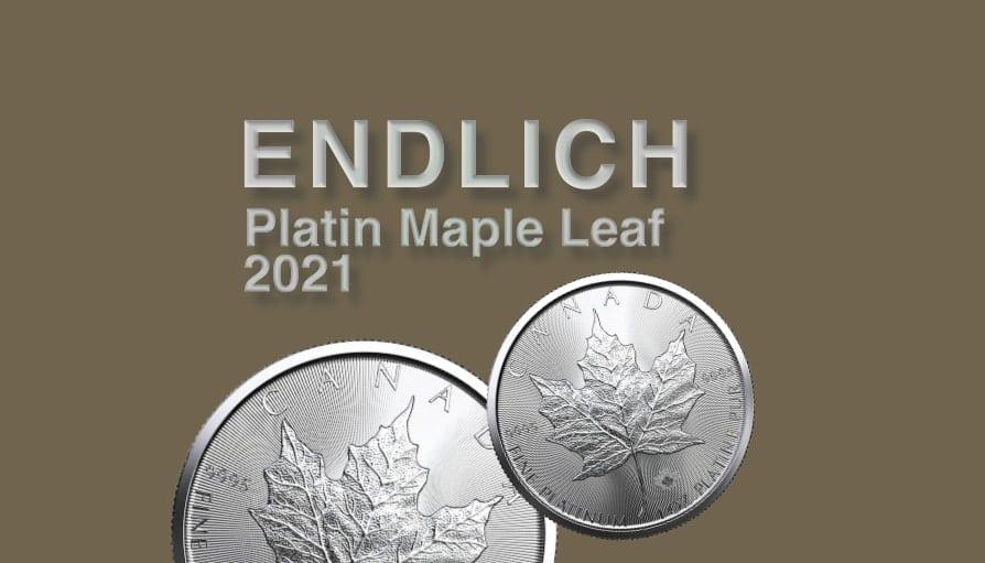 Platin Maple Leaf 2021