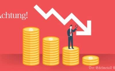 Steigende Anleiherenditen, steigende Crash Gefahr