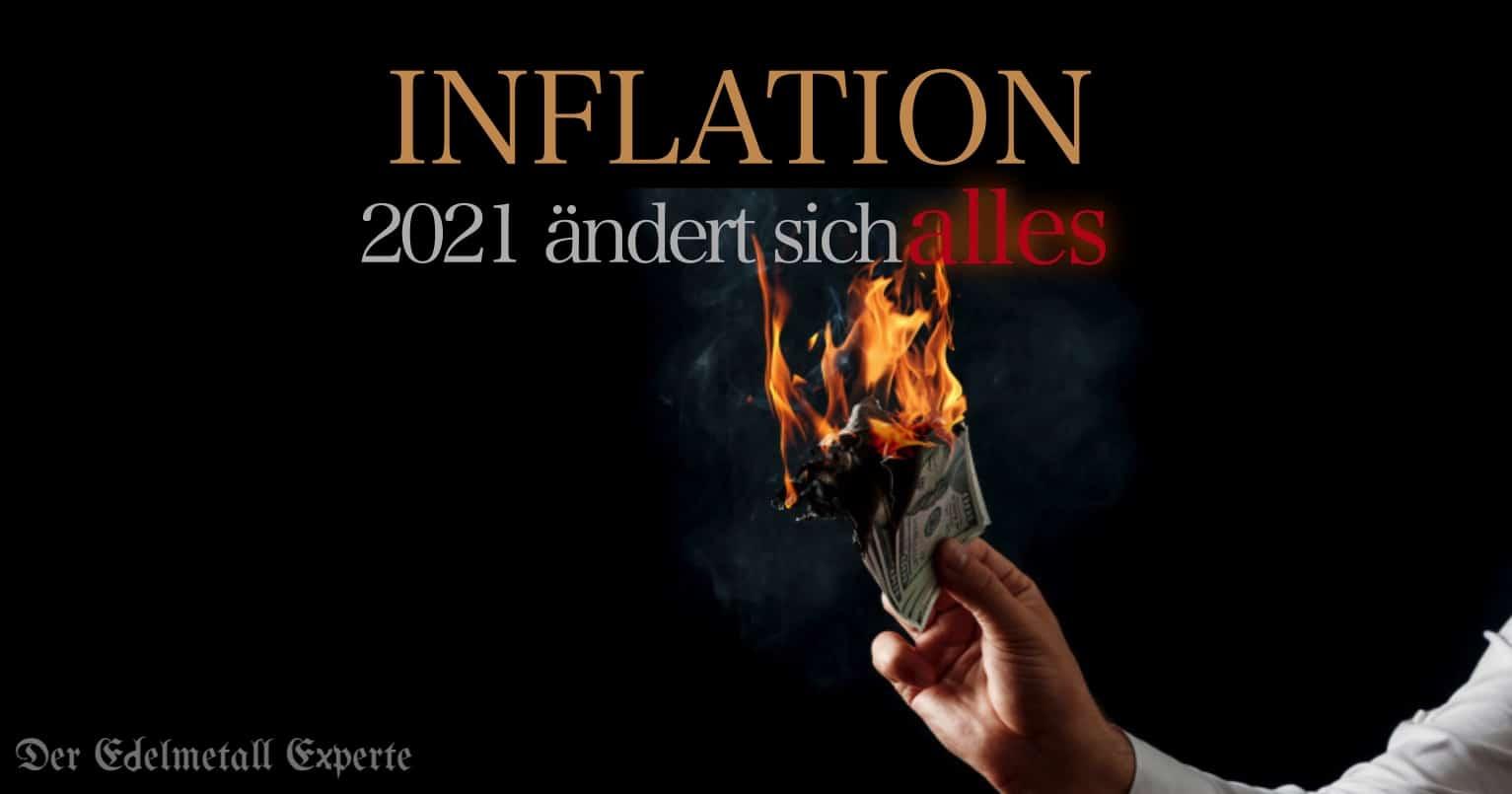 Inflation kommt 2021