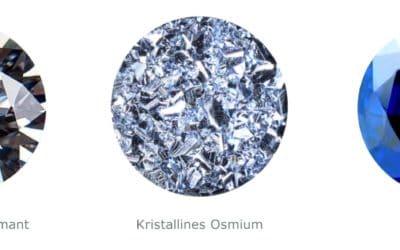 Warum Osmium?
