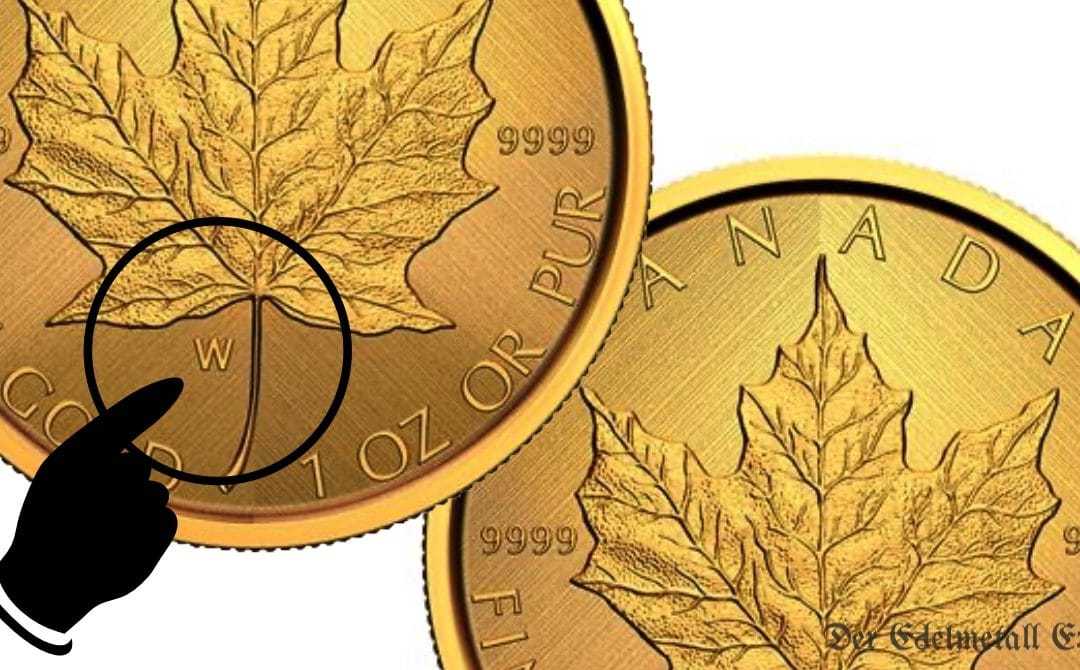 Sonderedition: Maple Leaf Gold 2021