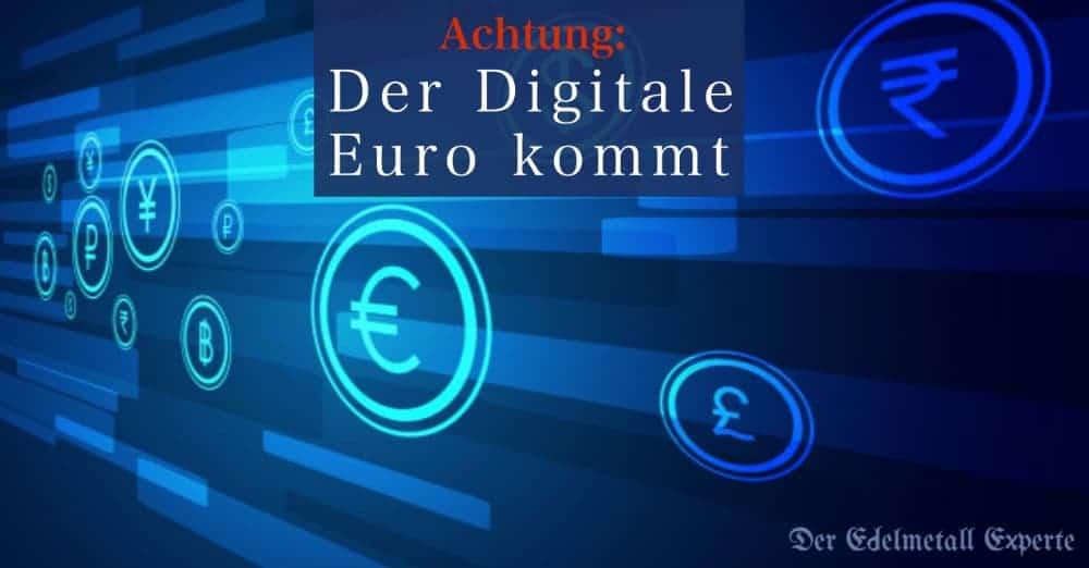Der digitale Euro kommt