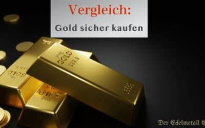 Gold sicher kaufen – Bezugsquellen im Test