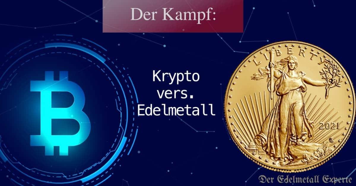 Kryptowährungen oder Edelmetalle kaufen