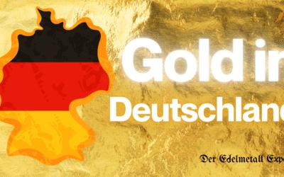 Wie viel Gold gibt es in Deutschland?