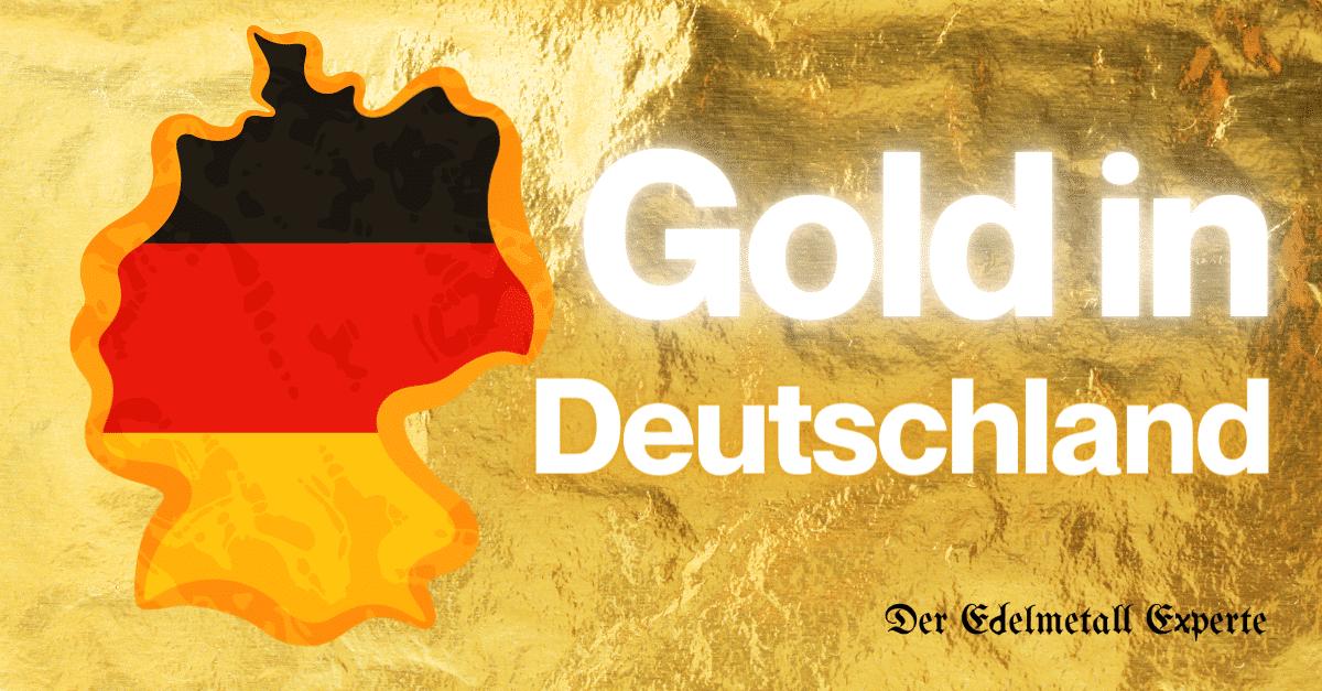 Wie viel Gold gibt es in Deutschland