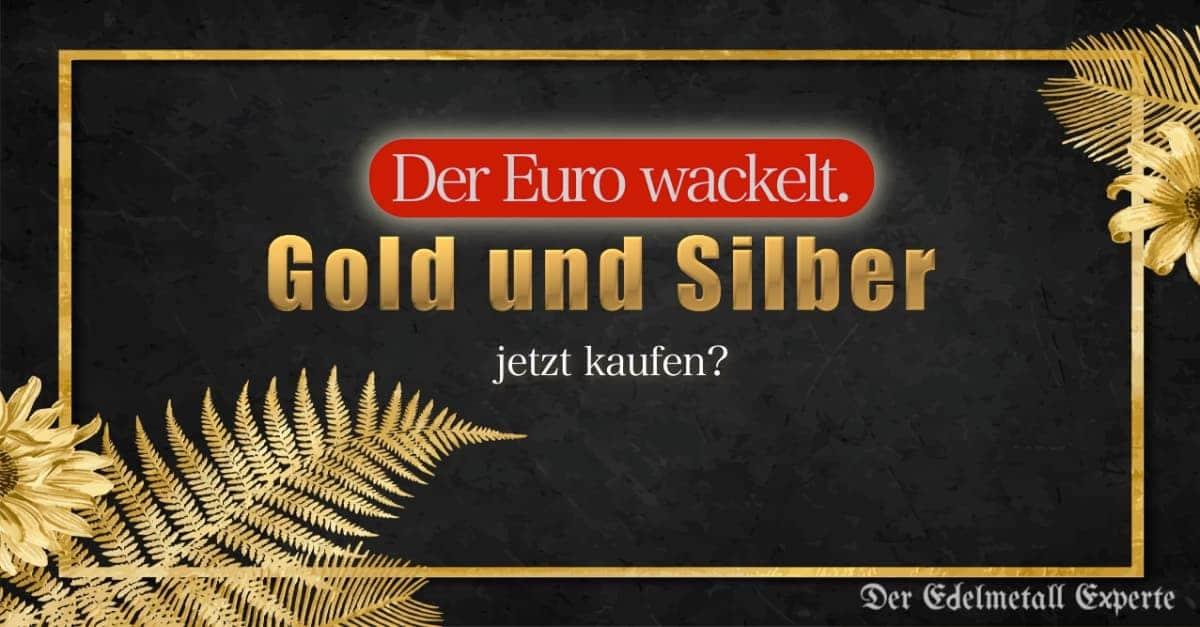 Euro Gold und Silber