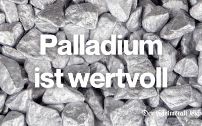 Warum ist Palladium wertvoll?