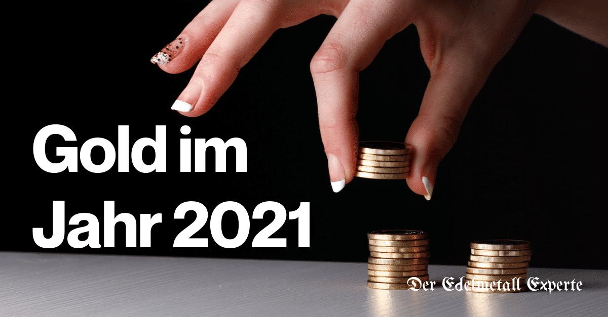 Goldpreis im Jahr 2021
