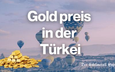 Goldpreis Türkei