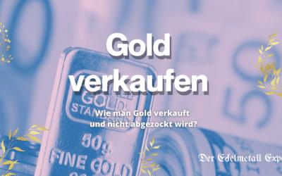 Gold verkaufen – 5 Tipps